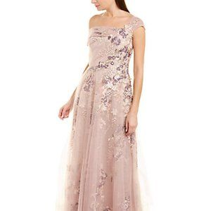 Teri Jon by Rickie Freeman Gown NWT